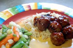 Honey Garlic Meatballs Made Two Ways
