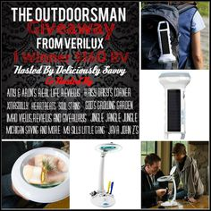 The Outdoorsman Giveaway from Verilux and Deliciously Savvy Ends August 1