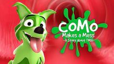 Como Makes a Mess: A Story about TMA | Cincinnati Children's Matching Couple Outfits, How To Train Dragon, Bone Marrow, Body Organs, Sound Design, Working With Children, Cincinnati, Feel Better, Art Work
