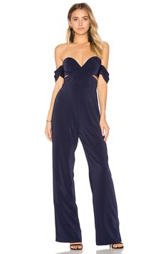 House of Harlow 1960 x REVOLVE Bianca Jumpsuit in Navy