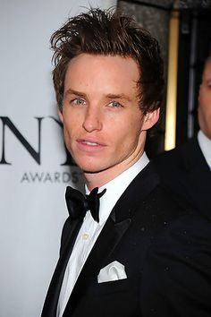 Eddie Redmayne. Perfect high cheekbones, lovely eyes, gorgeous freckles, an amazing voice.