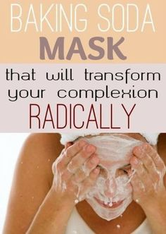 Baking Soda Mask That Will Transform Your Complexion Radically