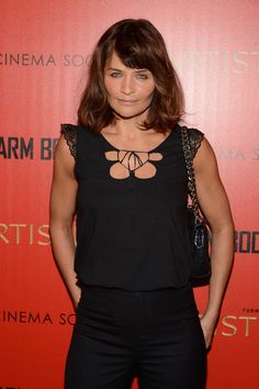 "Helena Christensen Photos Photos - Helena Christensen attends a screening of ""Warm Bodies"" hosted by The Cinema Society at Landmark's Sunshine Cinema on January 25, 2013 in New York City. - The Cinema Society And Artistry Host A Screening Of ""Warm Bodies"" - Arrivals"
