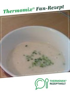 Spargelcremesuppe Cream of asparagus soup from Remey. A Thermomix ® recipe from the soups category on www.de, the Thermomix ® Community. Soup Appetizers, Healthy Appetizers, Healthy Drinks, Appetizer Recipes, Soup Recipes, Simple Appetizers, Creamed Asparagus, Italian Dinner Recipes, Cream Soup