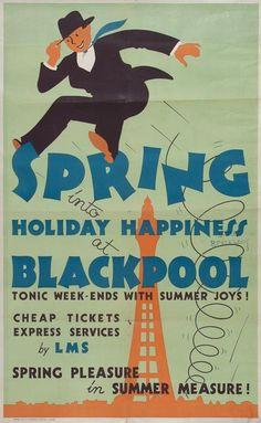 Blackpool Travel poster.