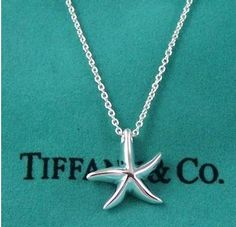 Starfish! <3 Silver, and not too big! Cute! Perfect! (: