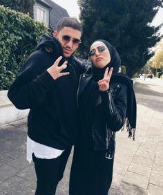 yaaaaaaass 💃🏻🕺 the perfect sweater dress: Muslim Fashion, Hijab Fashion, Couple Outfits, Fall Outfits, Cute Muslim Couples, Hijabi Girl, Popular Girl, Couple Goals, Couple Ideas