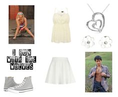 """Busted"" by unbreakabletomboy ❤ liked on Polyvore featuring River Island and Converse"