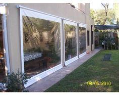 cierre terraza pvc - Buscar con Google Outdoor Fire, Outdoor Lounge, Outdoor Living, Pergola Patio, Backyard Patio, Sky Garden, Home And Garden, Sunroom Windows, Patio Accessories
