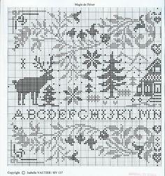 winter sampler - page 1