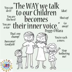 The way we talk to our children becomes their inner voice! Gentle Parenting, Kids And Parenting, Mindful Parenting, Parenting Articles, Parenting Tips, Coaching, Conscious Parenting, Parenting Done Right, Kids Mental Health