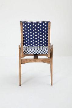 kiki chair | anthropologie #anthropologie #chair #blue #home #interiors #decorate