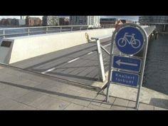 Copenhagen Cycle Superhighways Boost Bicycle Commuting - YouTube (Denmark, Danish, København, Danmark, dansk, cykelkultur, bicycle culture, bikes, riding, bike, cycling, biking, highway, commuting, green transportation)