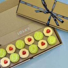 Wimbledon cupcakes