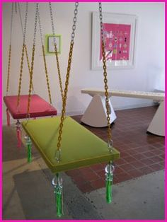 Indoor Swing For My House! I Want These... One Outside Of A