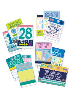 LC Pals - Milestone Pregnancy Cards Variety Pack Gift Set, $23.99 (http://www.lcpals.com/milestone-pregnancy-cards-variety-pack-gift-set/)