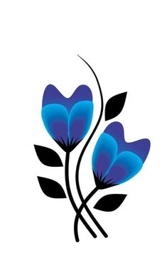 Beautiful Flower Drawings, Pencil Drawings Of Flowers, Butterfly Drawing, Flower Phone Wallpaper, Rock Design, Sewing Leather, Arte Floral, Rock Crafts, Easy Paintings