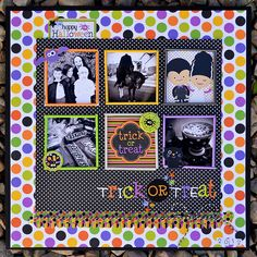 Trick or Treat | Doodlebug - Scrapbook.com