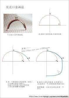 Como hacer el patrón monedero boquilla