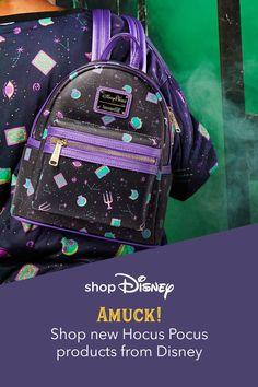 Luggage Backpack, Small Backpack, Backpack Purse, Mini Backpack, Halloween Fashion, Disney Halloween, Disney Purse, Cute Backpacks, Disney Merchandise