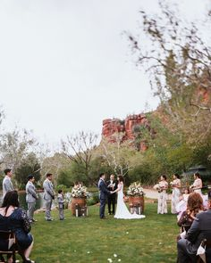 Planning    @heartofsedona  Photo    Jane in the Woods Sedona Wedding Photography  Venue    Rancho Los Lagos