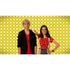 Austin and Ally ❤ liked on Polyvore