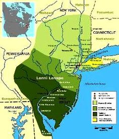 3 known Lenape-Delaware dialects - north to south: Munsee, Northern Unami, & Unami.