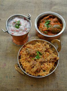 Indian style 101049585369251214 - Amma's Mutton Biryani Recipe Easy Rice Recipes, Baked Pasta Recipes, Beef Recipes For Dinner, Raw Food Recipes, Indian Food Recipes, Cooking Recipes, Ethnic Recipes, Indian Foods, African Recipes
