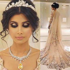 Hair and Makeup by dressyourface (Desi Bridal Shaadi Indian Pakistani Wedding Mehndi Walima)