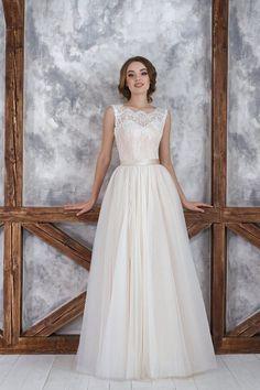 """Коллекция """"ODRI Love Voyage"""" - Будапешт, свадебное платье персикового цвета, цветное свадебное платье, wedding dress, wedding"""