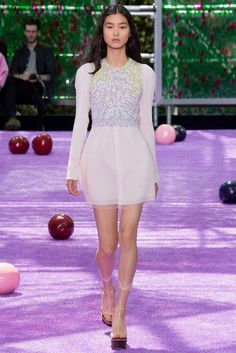 Christian Dior Fall 2015 Couture Fashion Show - Sofia Mechetner