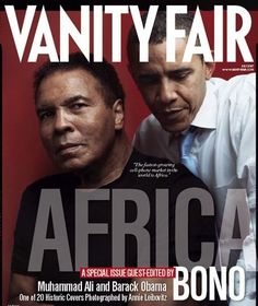Ali & Obama - Vanity Fair