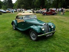Classic Mg Tf Cars for Sale Vroom Vroom, Cars For Sale, Antique Cars, Classic Cars, British, Racing, Green, Vintage Cars, Running