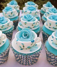Cute tea cup cakes