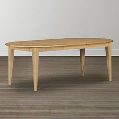 "44"" Oval Table by Bassett Furniture"