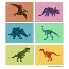 Dinosaur Prints Available on Goobeetsa.com (link in profile) #dinosaur…
