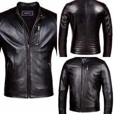 b4966d5b664a2 19 Best Corbani Mens Leather Jackets images