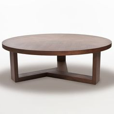 "Inmod Tripod Round Coffee Table Large: 47.2""diameter x 15.7""h"