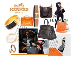 """La Maison D'Hermes"" by re-vogue ❤ liked on Polyvore featuring Hermès"