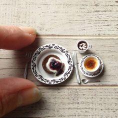 Cream brulee miniature By My Siderikko