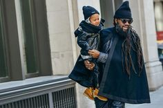 Most Stylish Kids at Fashion Week, Look of the Day - Street Style