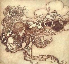 Goose Girl by Arthur Rackham