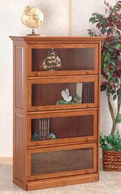 Sarah's library shelves filled to the brim with her favorite books.
