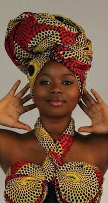 African fashion, headwraps