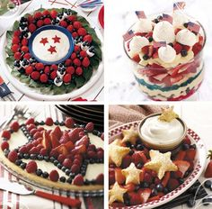 These would be nice for the 4th of July... would have to make a few dietary modifications, but they're so pretty!