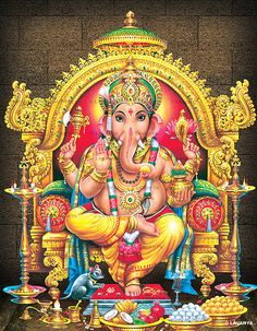 Lord Ganesh is also known by the names #Ganapati, #Ekadanta, #Vinayaka…