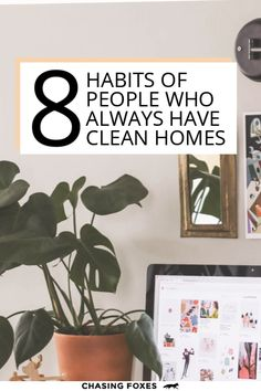 If you need some good cleaning hacks, then definitely read this post that'll help you with your cleaning schedule. These tips really are good, general cleaning tips for your home. #ChasingFoxes #CleaningHacks #CleaningSchedule #CleaningTips