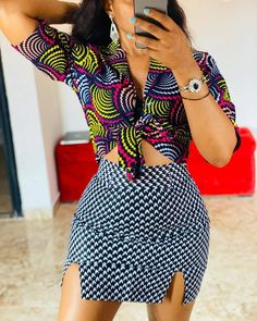 25 Africa office outfits to try - Ankara Lovers African Print Clothing, African Print Fashion, Africa Fashion, African Fashion Ankara, Short African Dresses, Latest African Fashion Dresses, African Print Dresses, Moda Afro, African Fashion Traditional