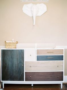 Love this for a #baby #boy! #dresser #nursery