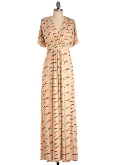 Dear Living in the Crescent Dress: please get back in stock soon. And go on sale. Thanks.